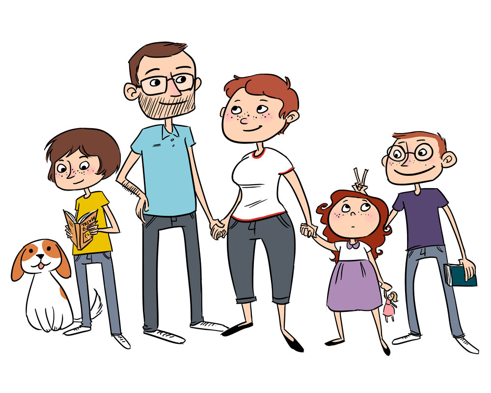 Cartoon Family Members - ClipArt Best - ClipArt Best
