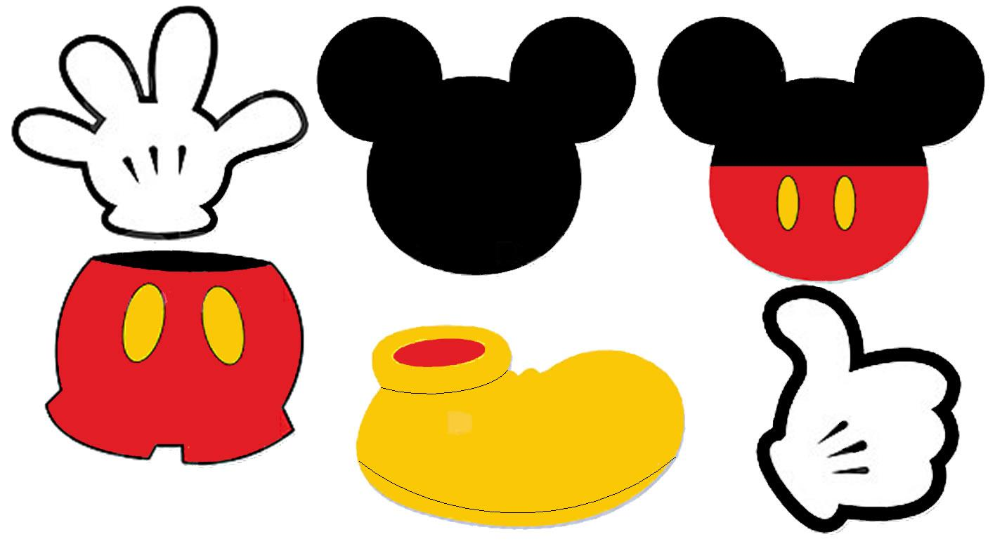 clipart mickey mouse ears - photo #44