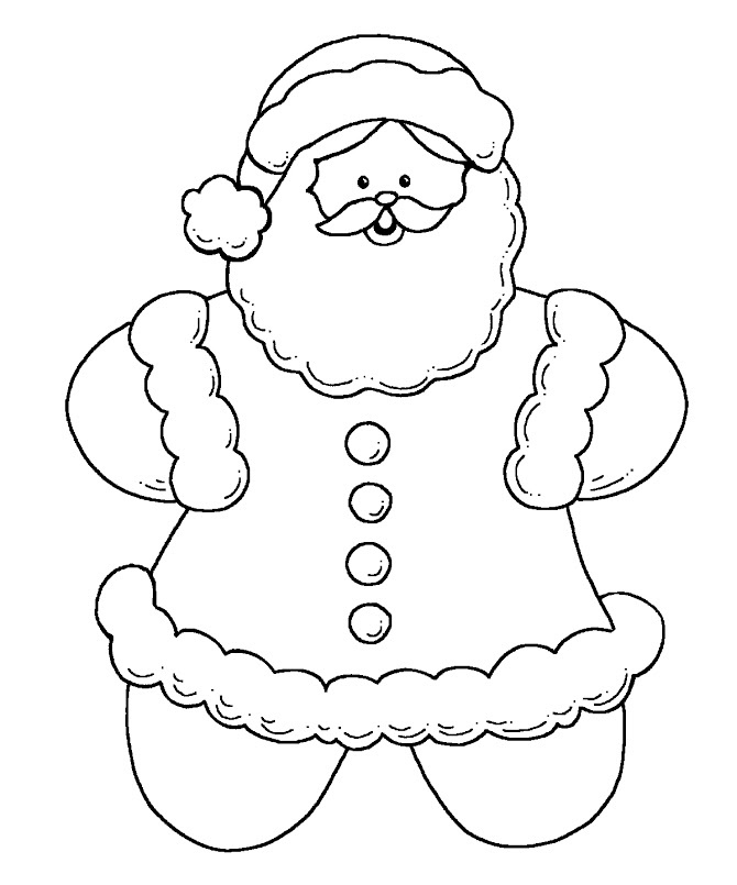 Pin pin gingerbread man outline printable on pinterest on for Gingerbread man coloring pages printable