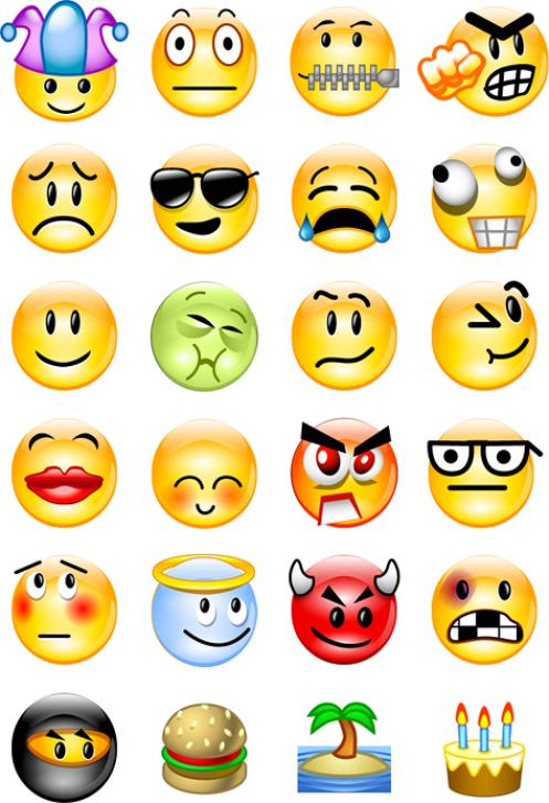 Pics Of Smiley Faces Emotions - ClipArt Best
