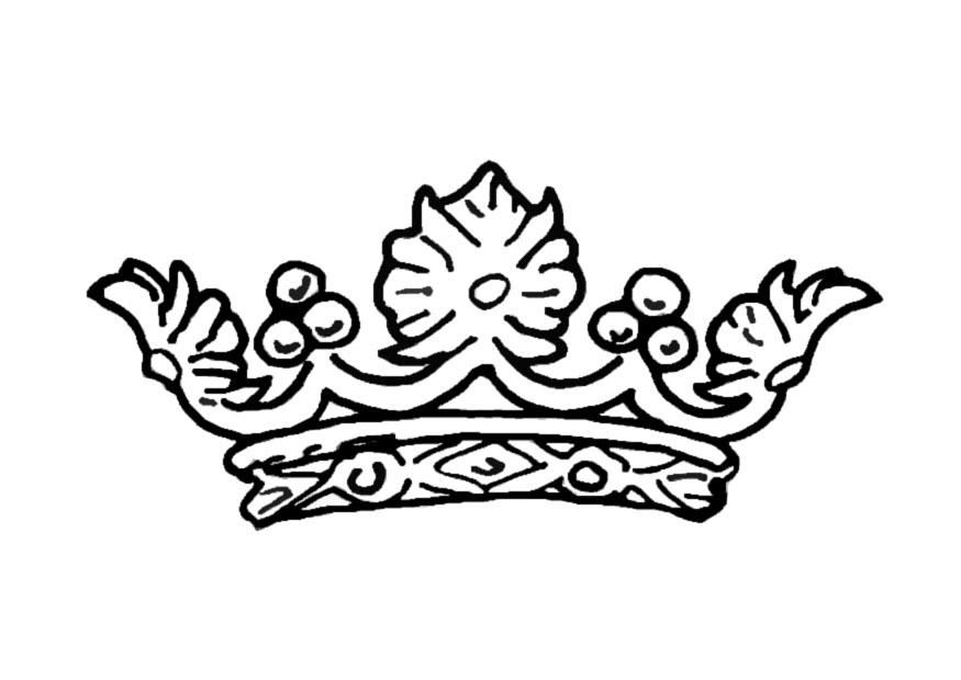 Line Drawing Crown : Crown line drawing cliparts