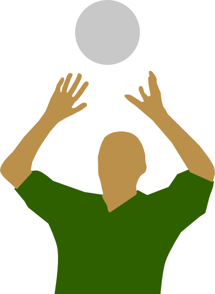 volleyball setting clipart - photo #2