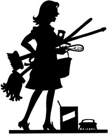 Cleaning Lady Cartoon Clipartsco