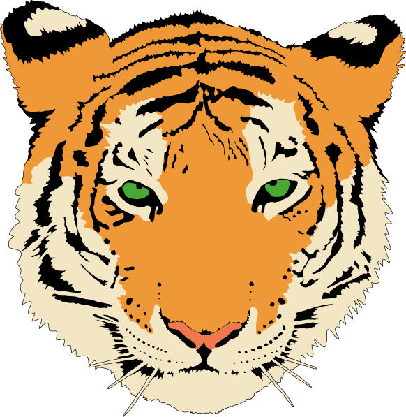 Free to Use & Public Domain Tiger Clip Art