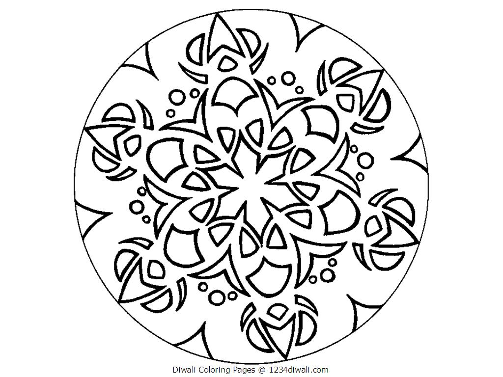 free coloring pages india designs | Images For > Diwali Black And White Clipart - Cliparts.co