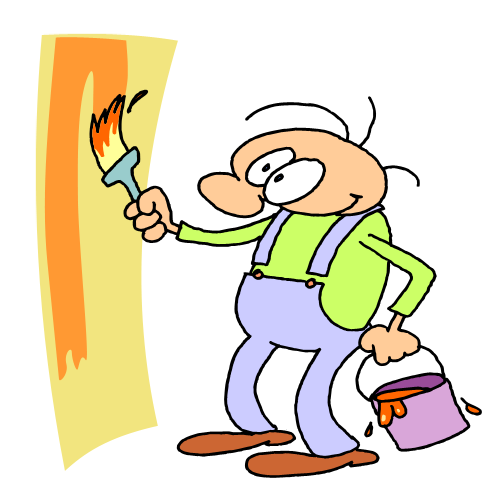 House Painter Clip Art - Cliparts.co