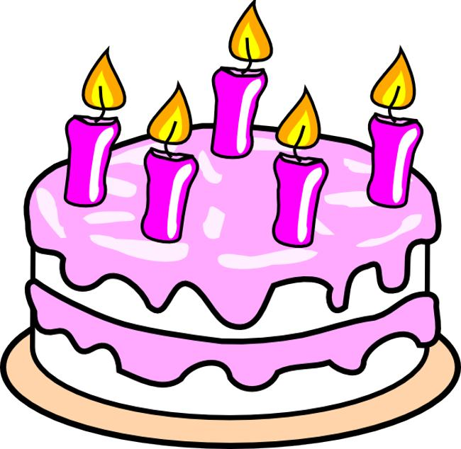 Clipart Birthday Dancing Cake : Birthday Cakes Clipart - Cliparts.co