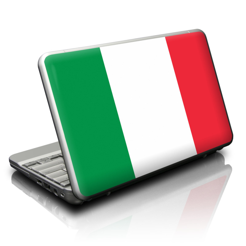 Netbook Skin - Italian Flag by DecalGirl Collective | DecalGirl