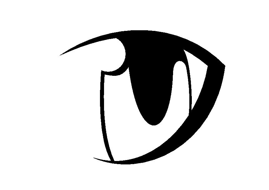 anime eyes clipart - photo #50