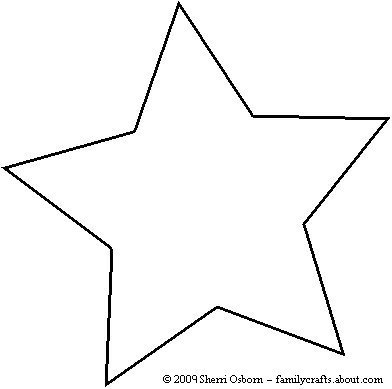 Star Outline Printable - Cliparts.co