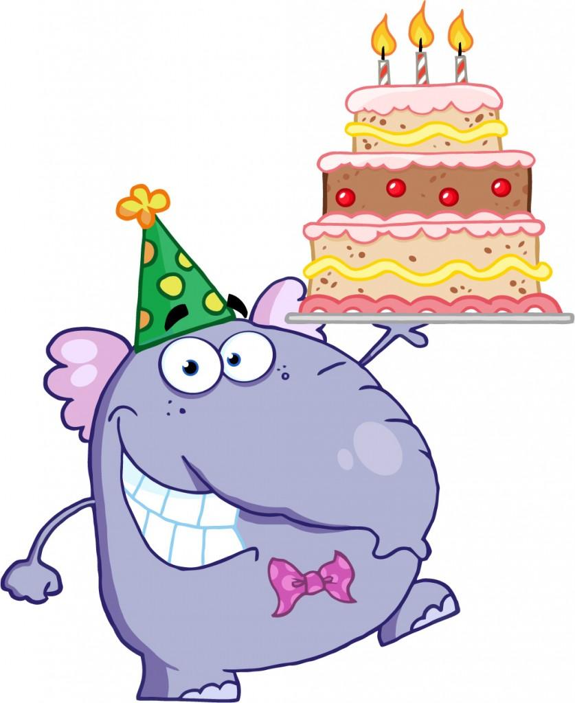 Birthday Cake Cartoon - Cliparts.co