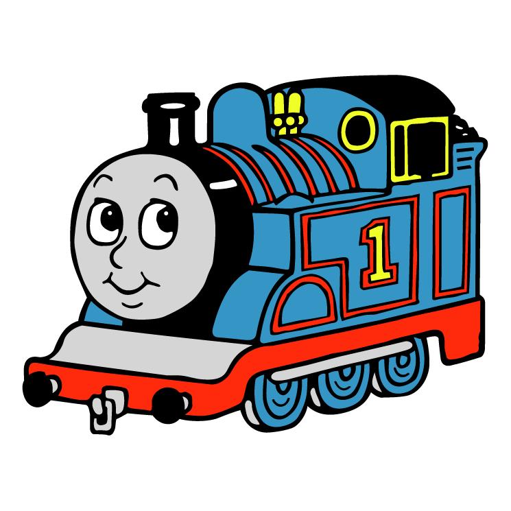 Рисунок паровозика томас