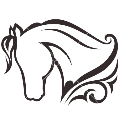Horse Silhouette Vector - Cliparts.co