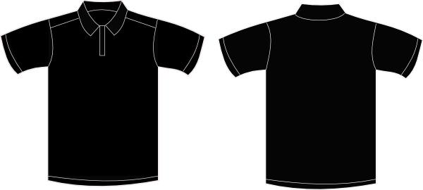 9f2bdc835 Polo Shirt clip art - vector clip art online, royalty free .