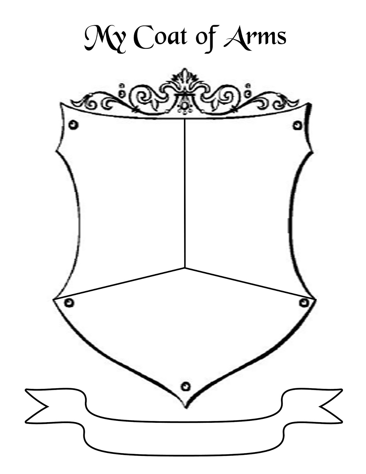 Worksheets Coat Of Arms Worksheet of coat arms worksheet sharebrowse collection sharebrowse