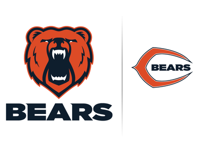 Dribbble - Chicago Bears Logo Concept by Jacob Brooks