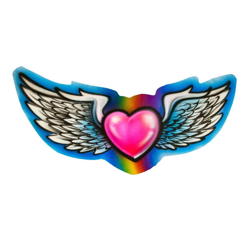 Coloring Pages Of Hearts With Wings