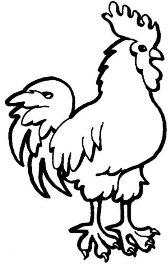 Farm Animals Coloring Page : Sweet Calf Farm Animal Coloring Pages ...