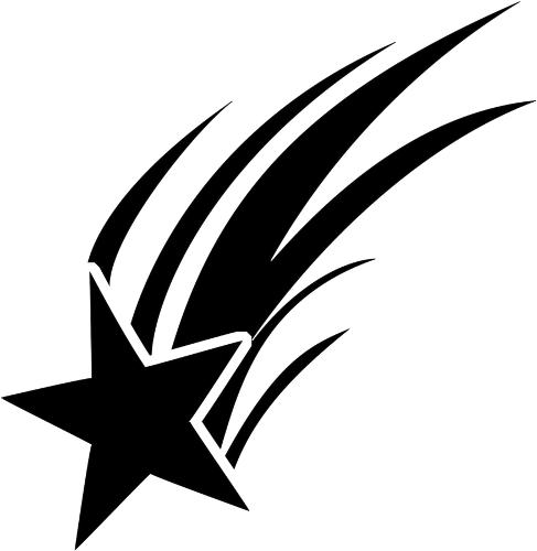 falling star clipart rh worldartsme com Simple Falling Star Clip Art Fall Risk Falling Star
