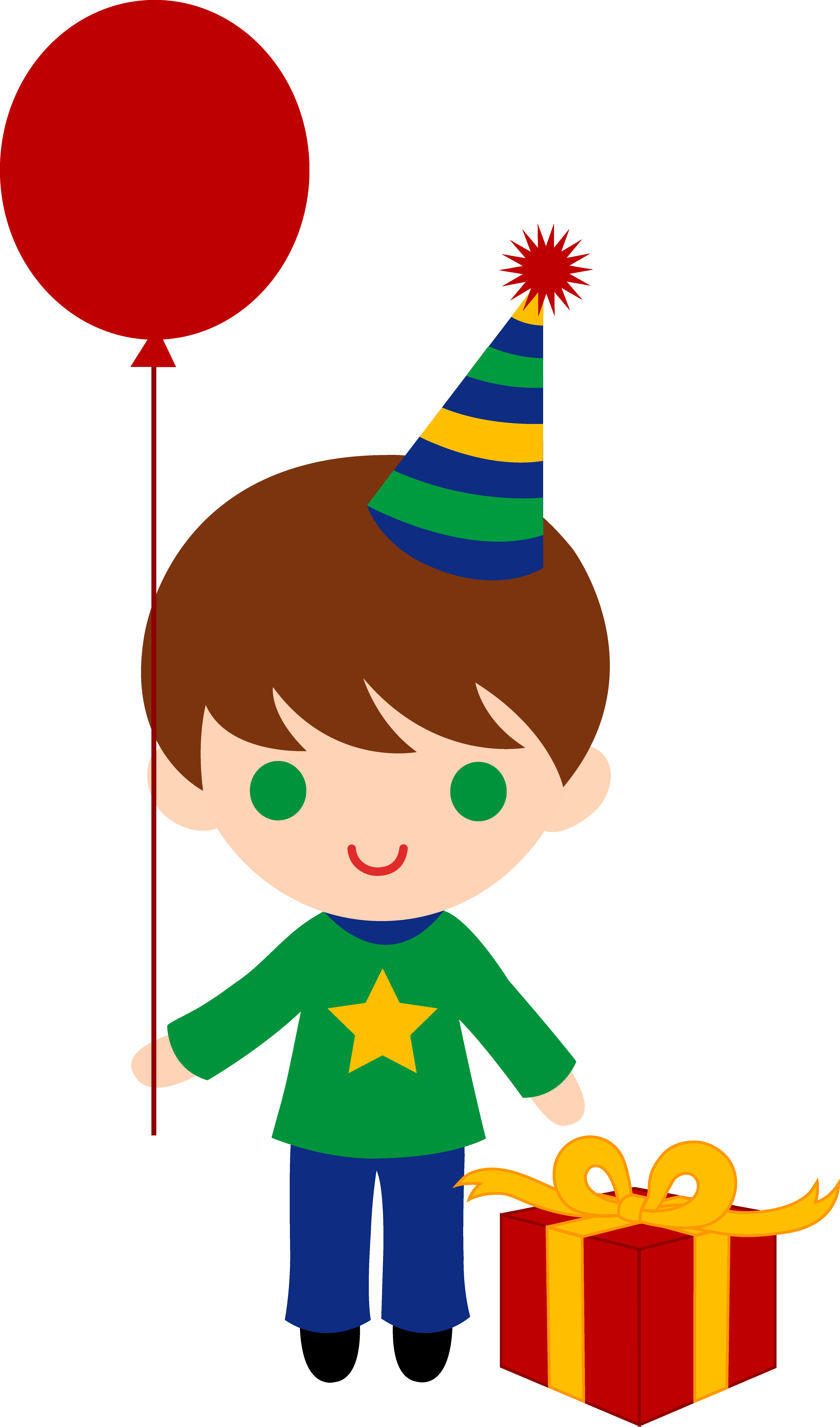 Little Birthday Boy Clip Art - Free Clip Art