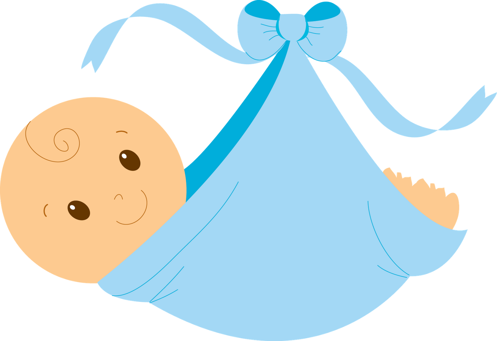 Blue Baby Feet Clip Art - Cliparts.co
