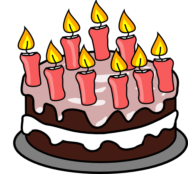Clip Art Birthday Cakes - ClipArt Best