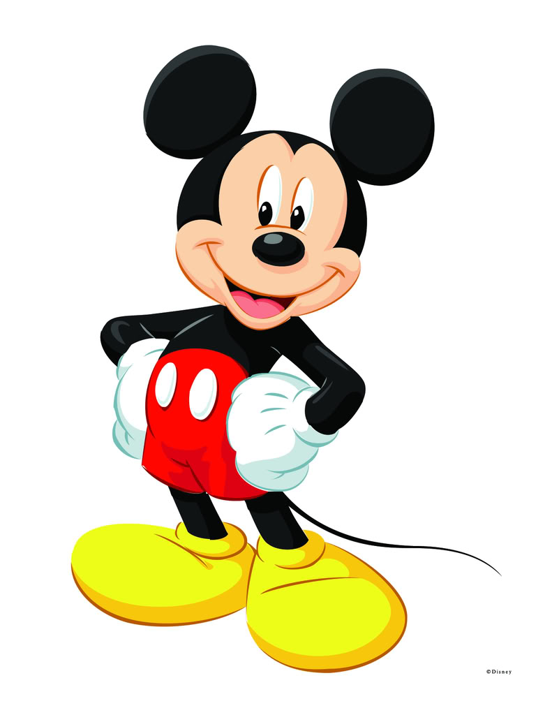 Images For > Mickey Mouse Birthday Pictures Clip Art