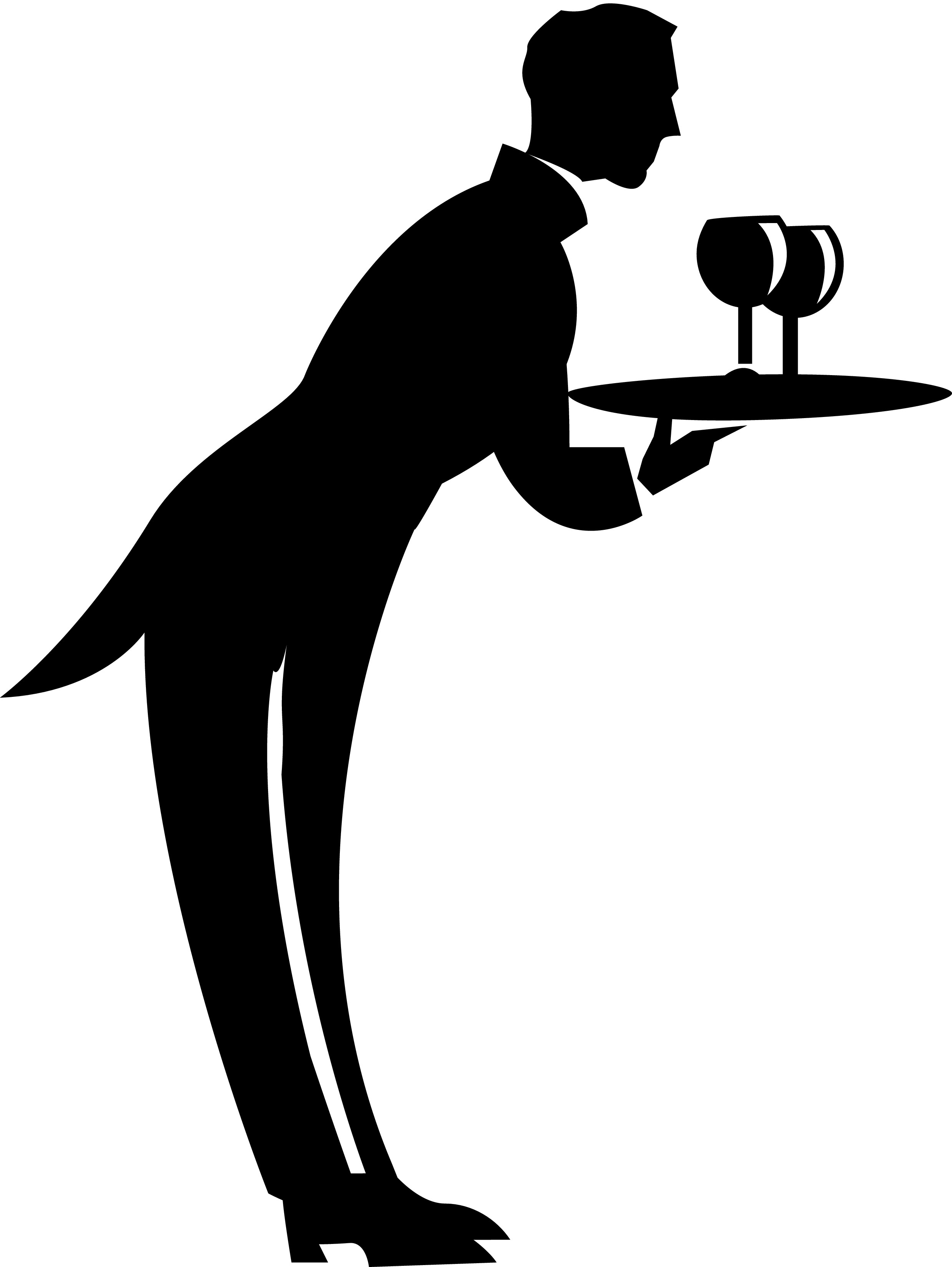 Picture Of Waiter - ClipArt  Waiter Clipart Png