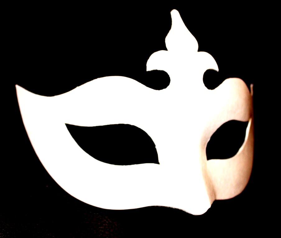 Masquerade Mask Stencil - Cliparts.co