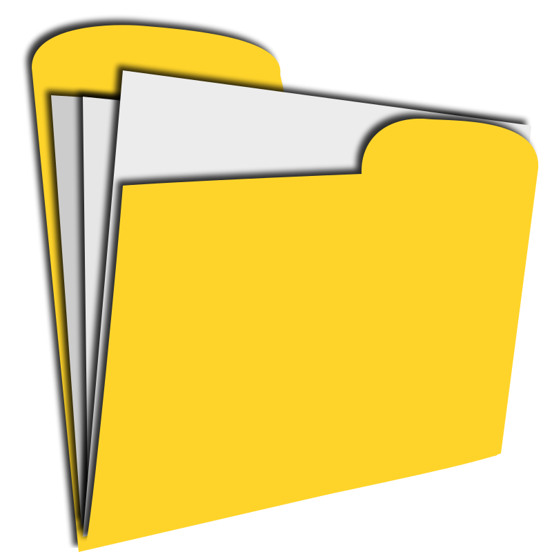 clipart of documents - photo #5