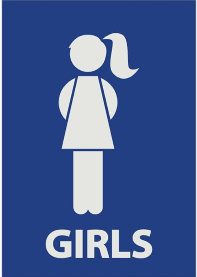 Girls Bathroom Symbol Restroom Signs Clip Art Clipartsco