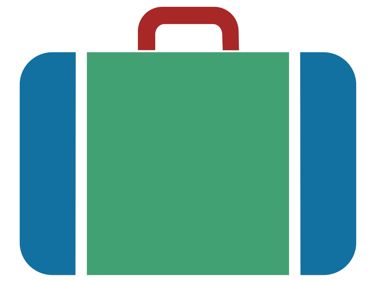 File:Suitcase icon blue green red jpg to svg v1.svg - Wikimedia ...: cliparts.co/luggage-icon