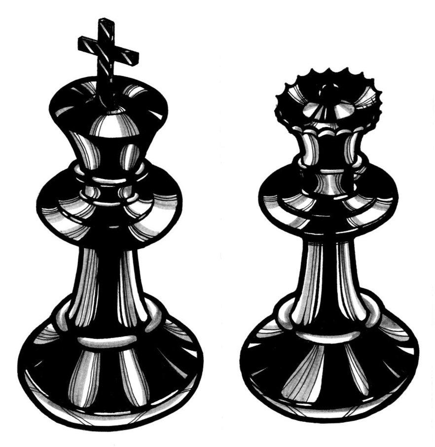 Chess King Tattoo Clipartsco