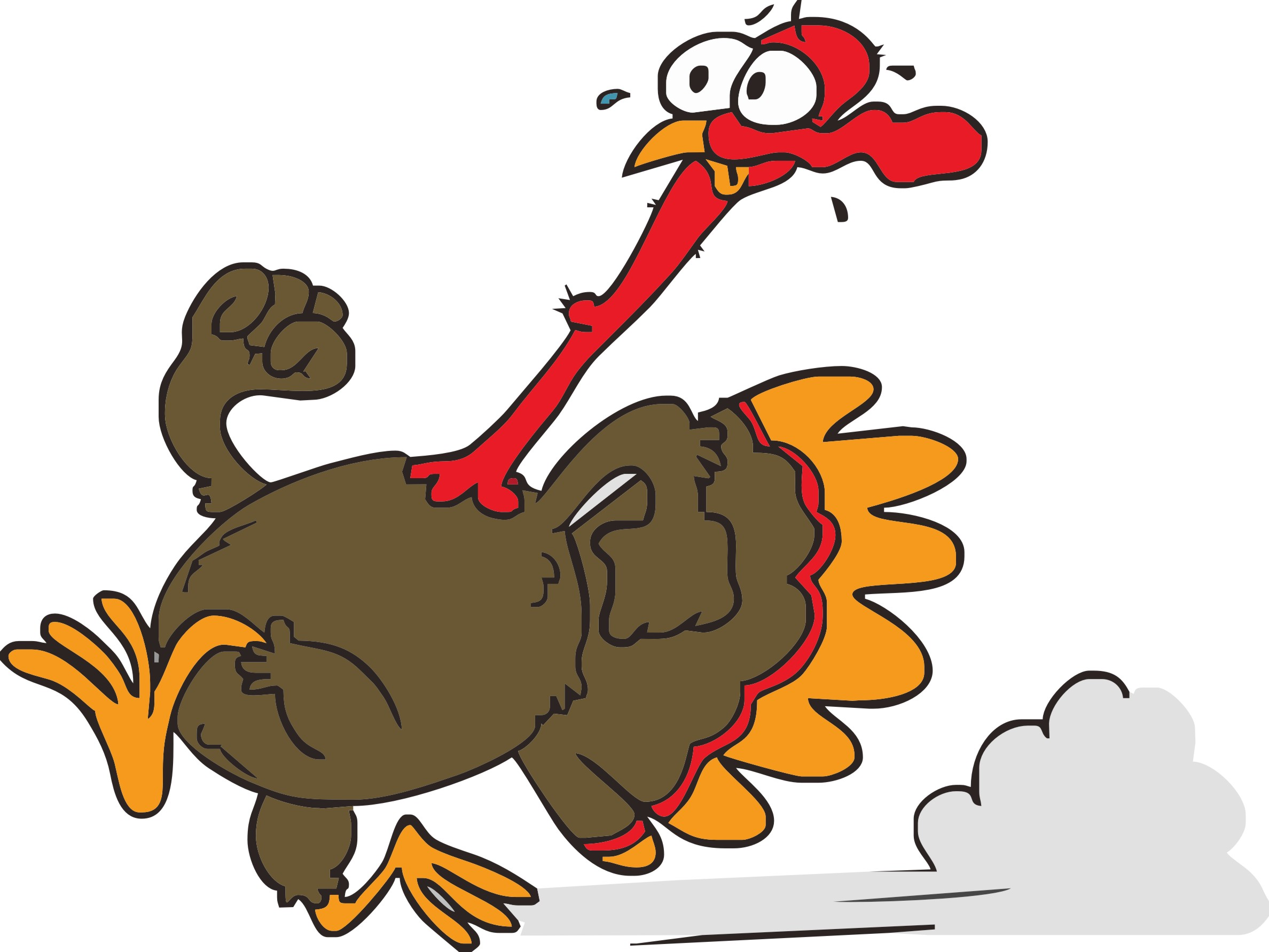 Funny Cartoon Turkeys Funny Cartoon Turkeys ...