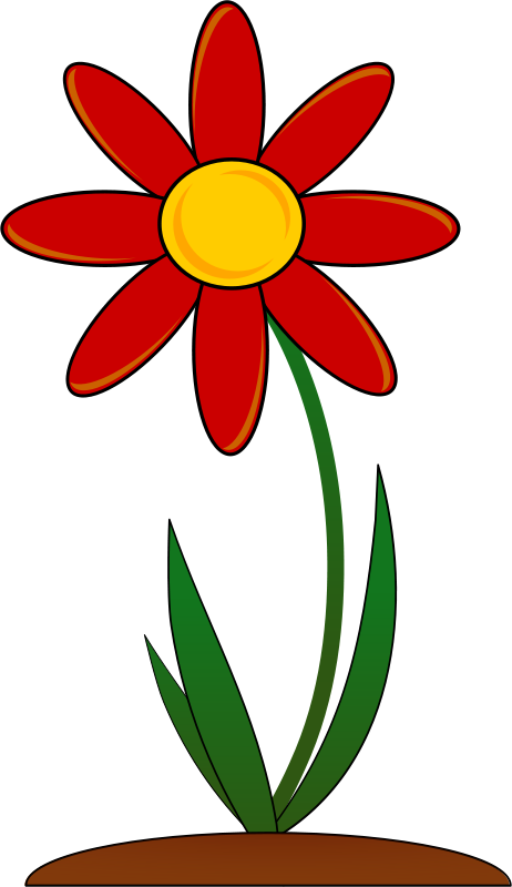 clipart garden flowers - photo #12