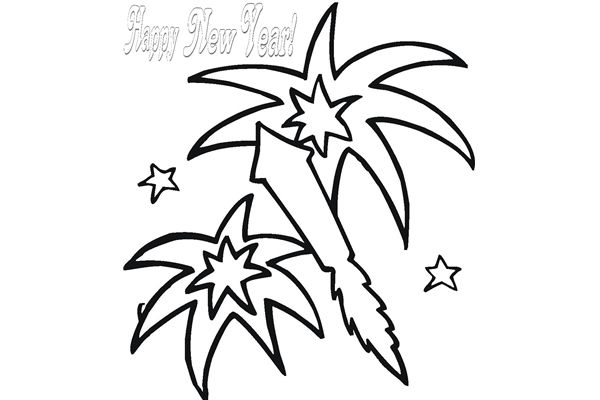 New Years Fireworks Clipart | Clipart Panda - Free Clipart Images