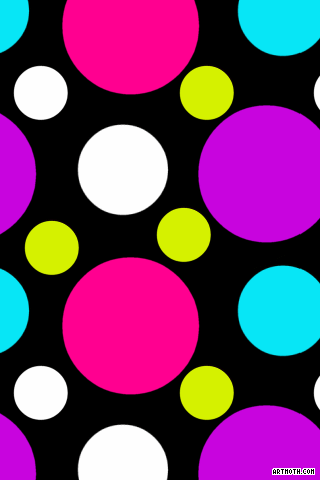 Colorful Polka ... Iphone 5 Backgrounds Tumblr