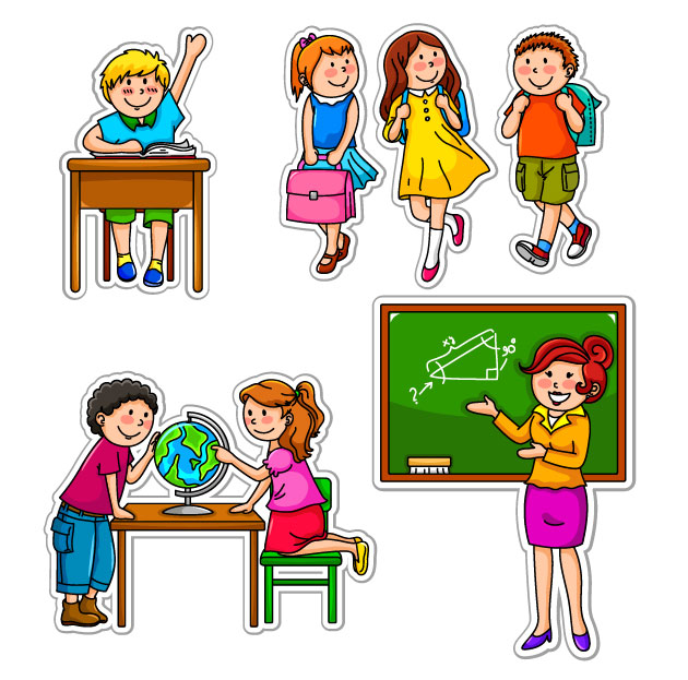 Kids School Cartoon - ClipArt Best