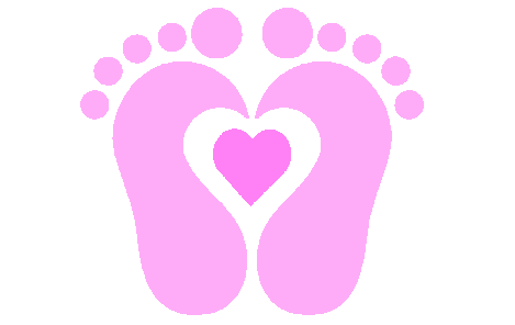 Baby Footprints Clipart - Cliparts.co