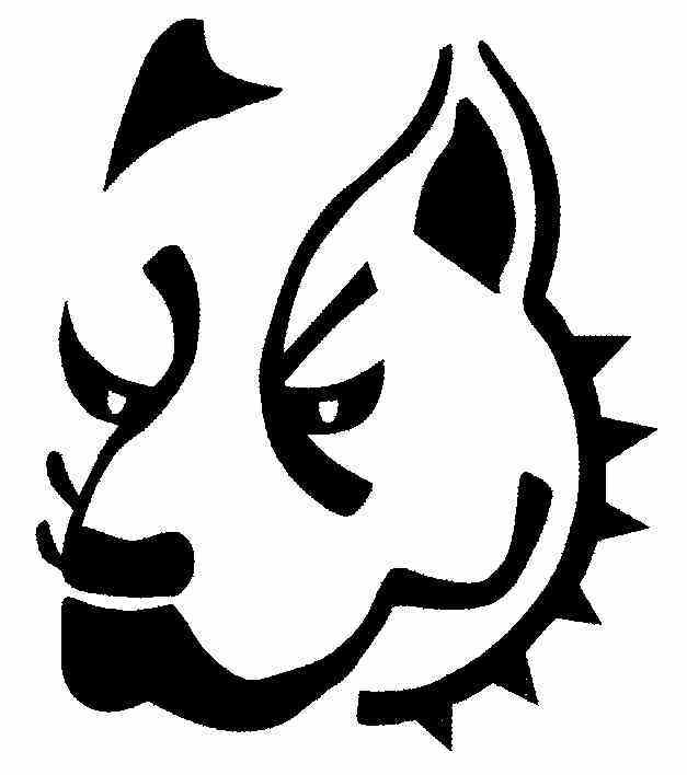 pit bull clip art clipartsco