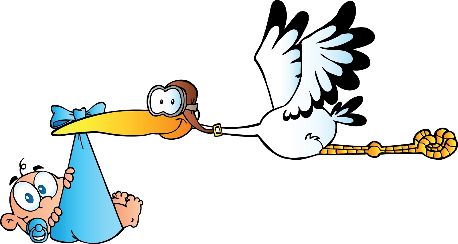 stork and baby clipart free - photo #9