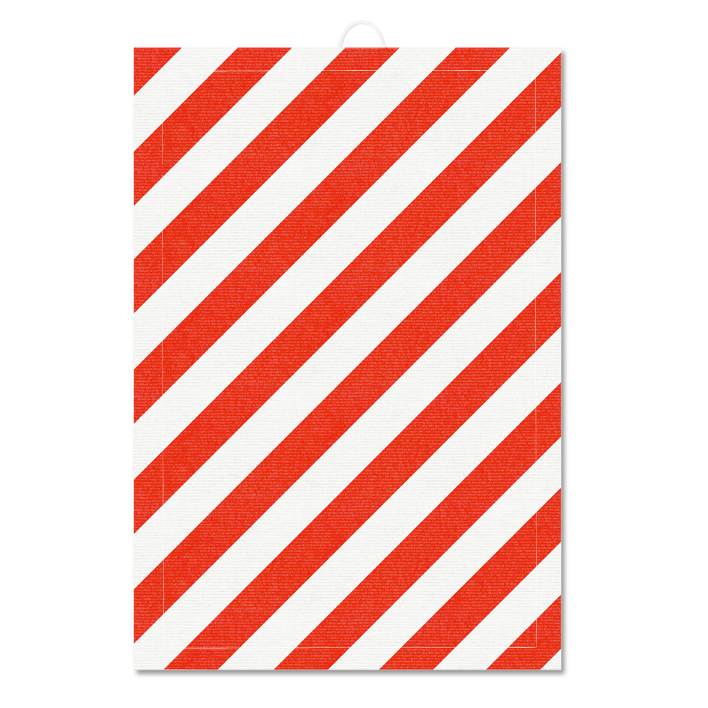 Fine Little Day - POLKA TEA TOWEL RED