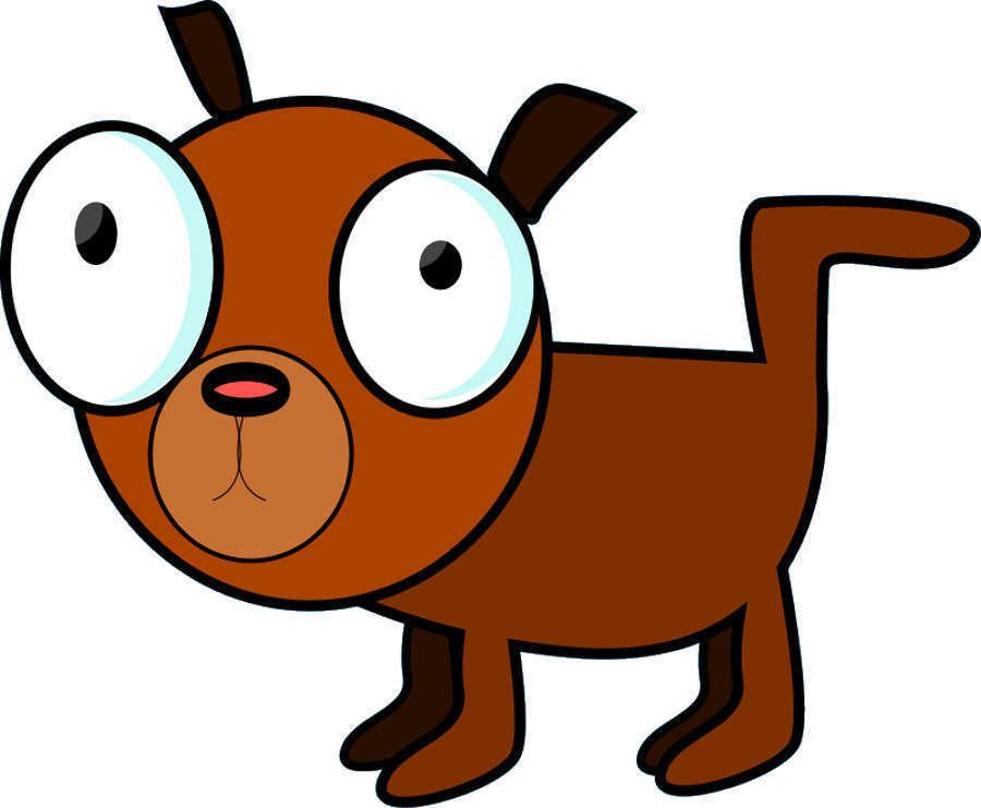 Clipart Dog - Comic Zeichnen, Comics, Mangas und Comicfiguren.
