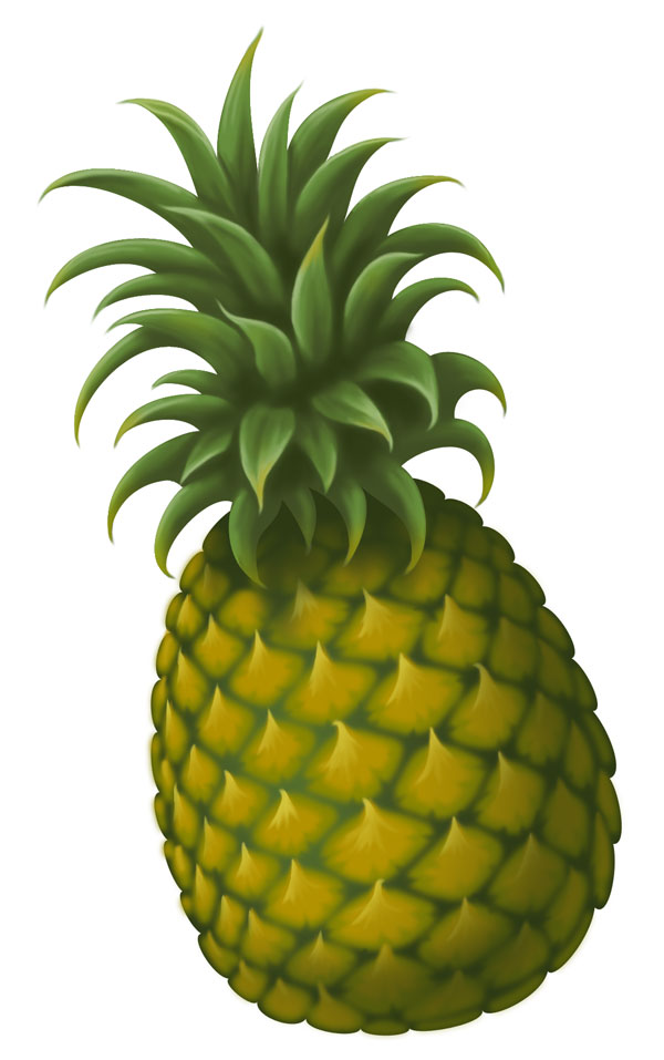 Clip Art Pineapple - Cliparts.co