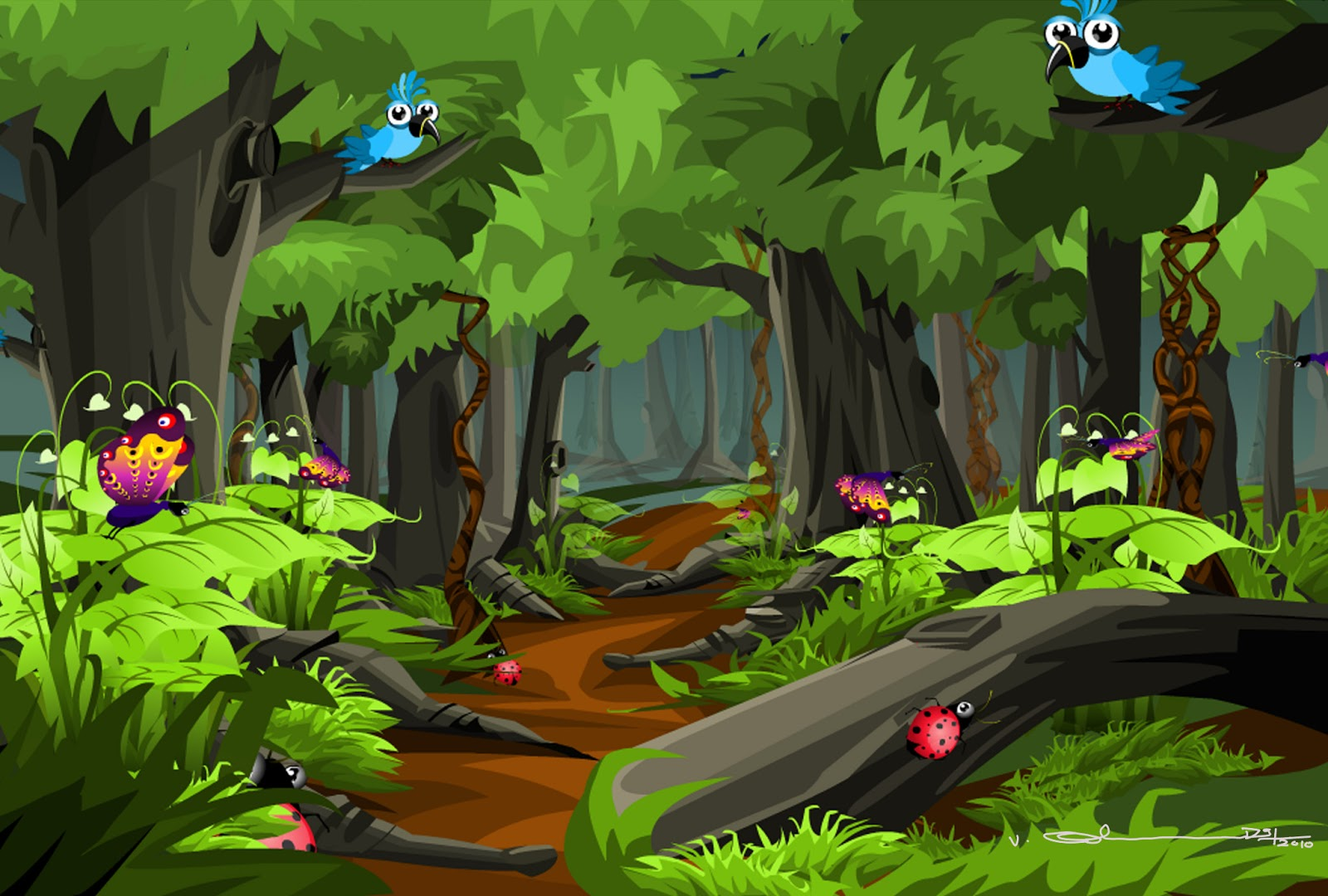 Images for Gt Cartoon Forest Background 1600x1080PX ~ Cartoon ...: cliparts.co/forest-trees-cartoon