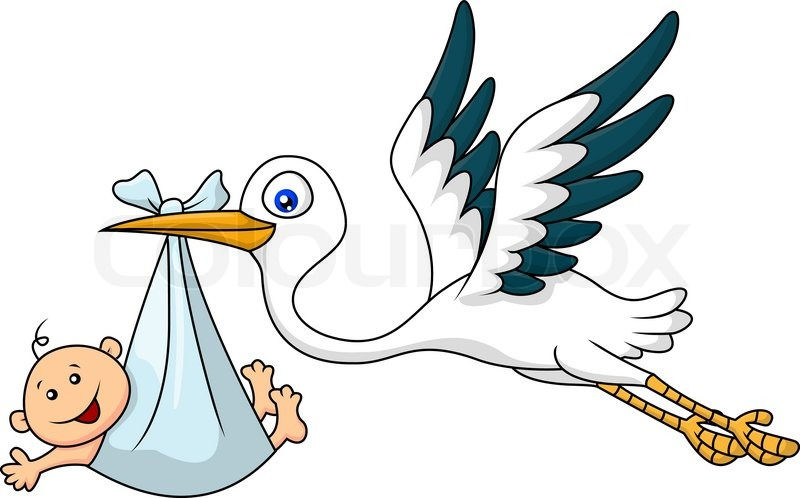 Stork Baby Boy Clip Art - Cliparts.co