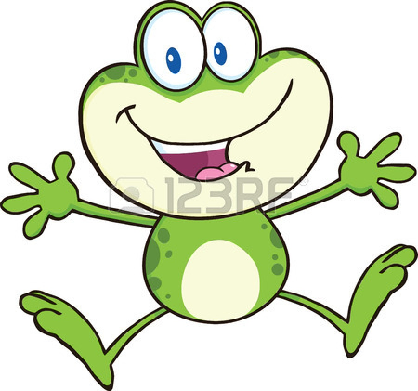 Green Frog Clipart Cartoon Picture Of Fro...