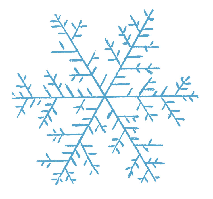 Simple Snowflake Line Art : Snowflake images free cliparts