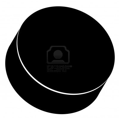 Hockey puck clip art