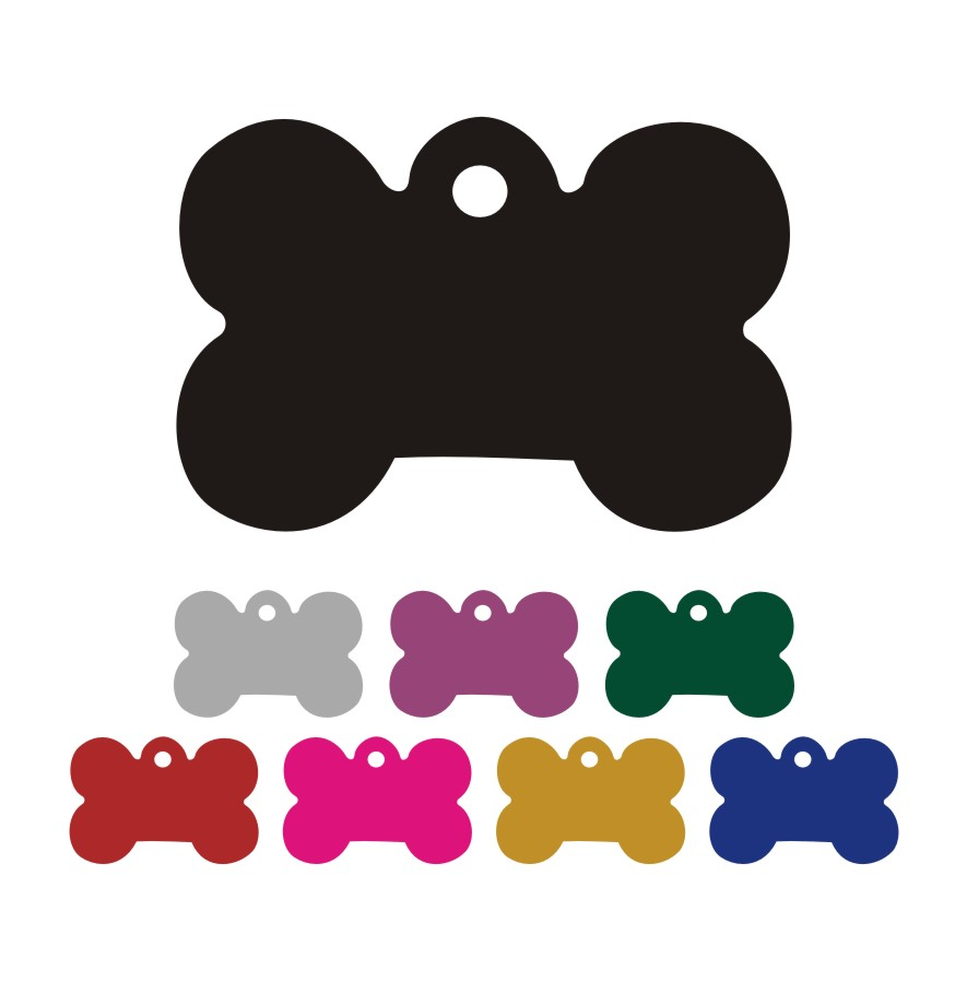 Dog Tags Clip Art - Cl...